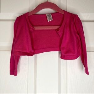 5/20$  Carter's Baby Girl Pink Shrug 9 months